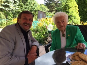An afternoon with Hazel McCallion
